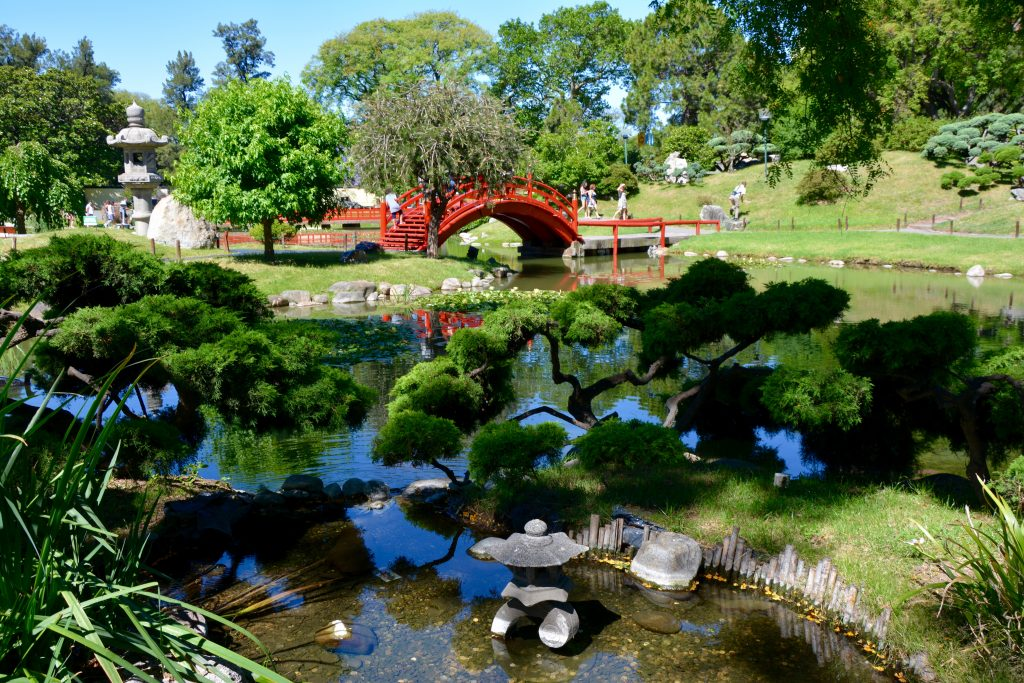 Jardin japonais, Parque 3 de Febrero, Palermo, Buenos Aires