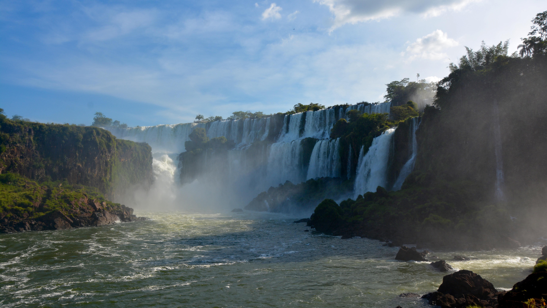 Chutes d'Iguazu, coucher de soleil