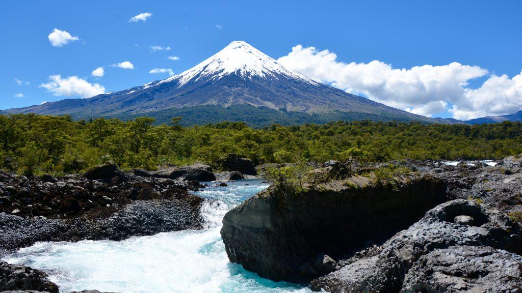 volcan Osorno, saltos del Petrohue