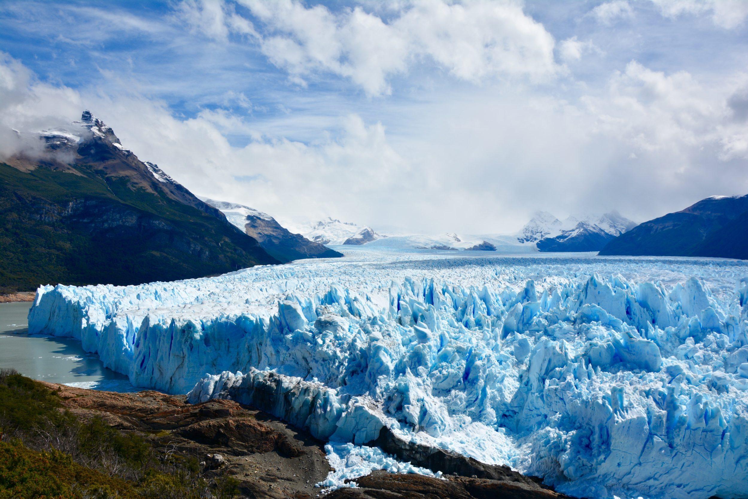Perito Moreno, Hielo Sur