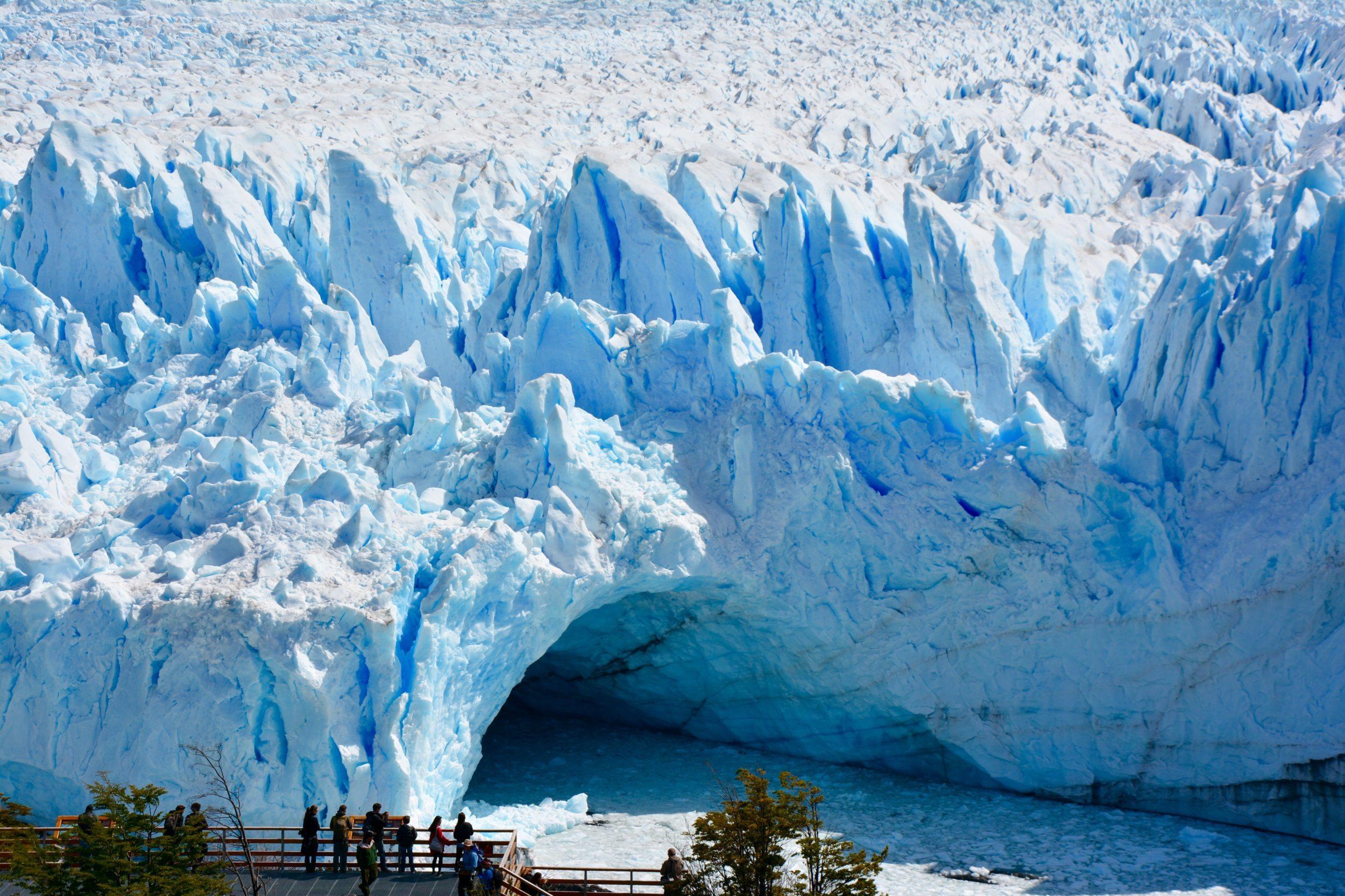 Perito Moreno, Los Glaciares, depuis la passerelle