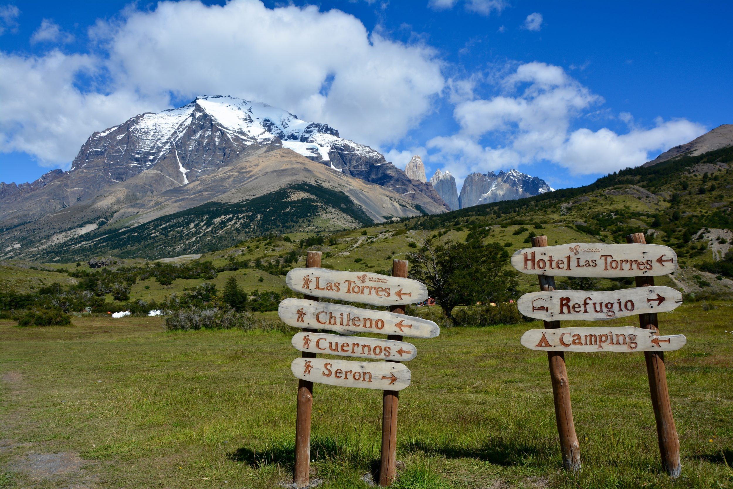 Refuge Las Torres, Torres del paine