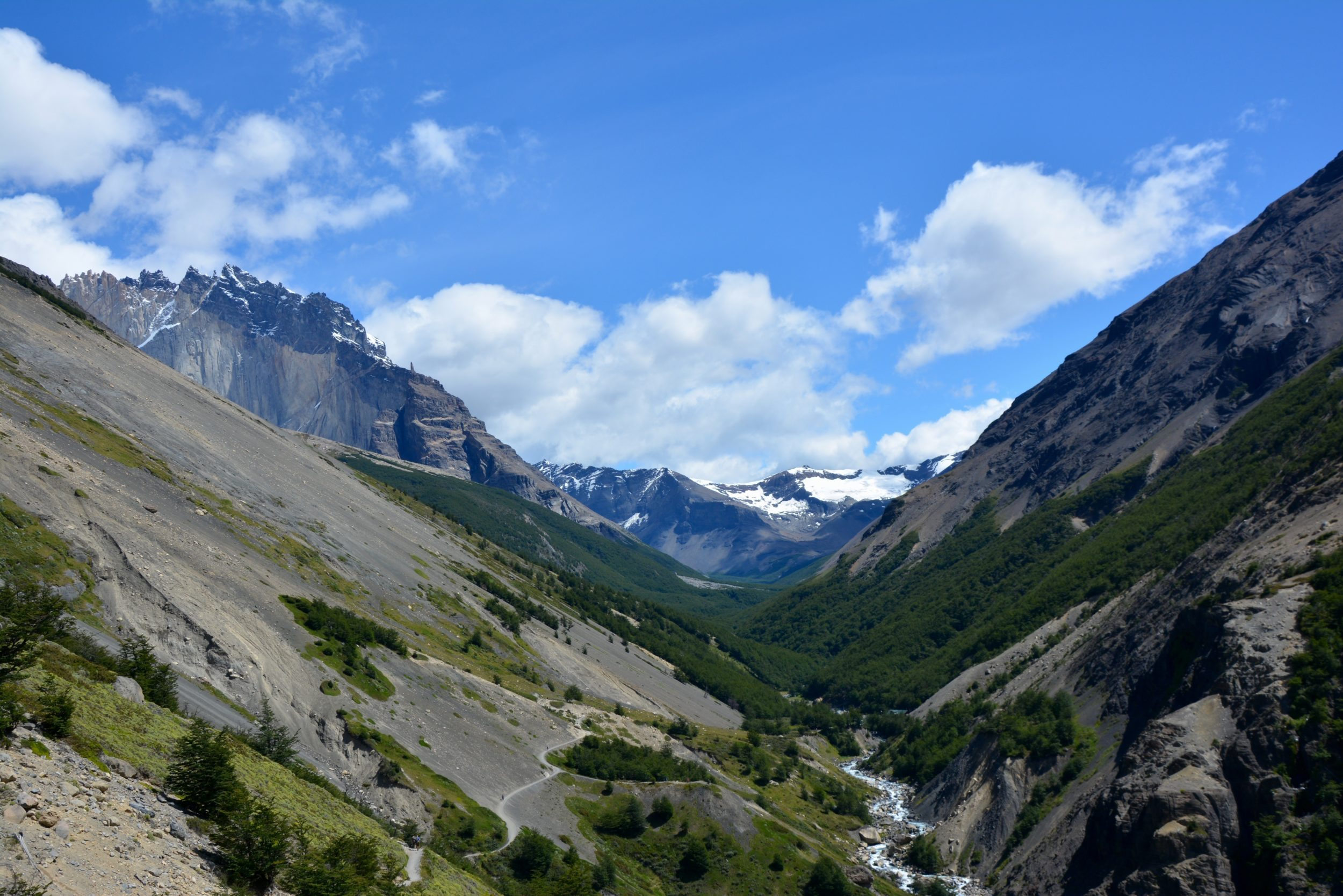 Campement Chileno, Valle Ascensio, Torres del paine