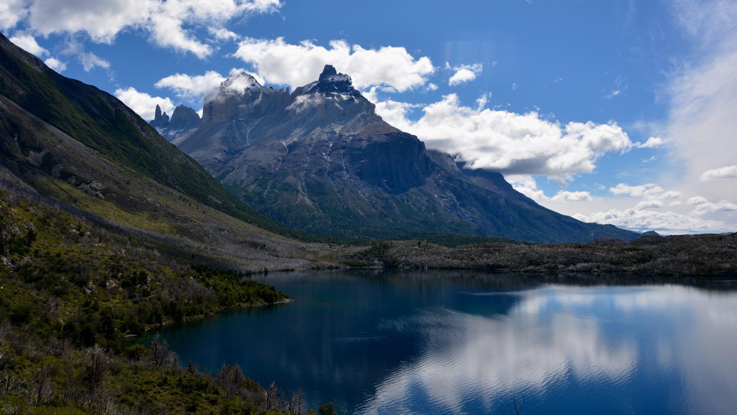 Lago Skottsberg, Los Cuernos, Torres del paine