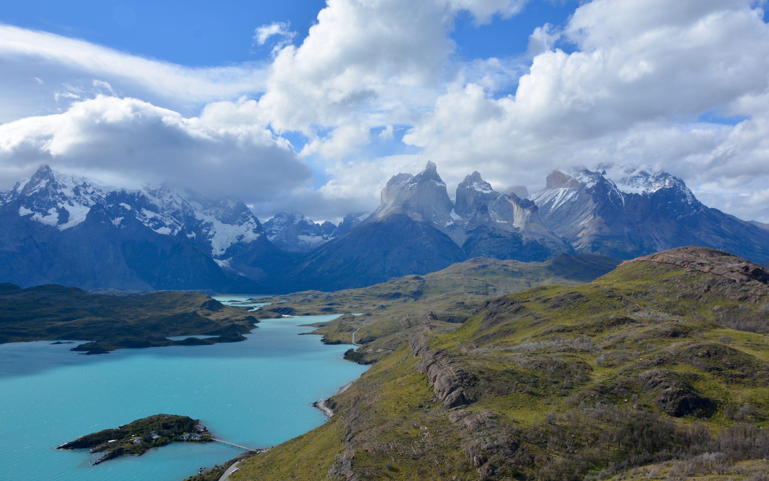 mirador Condor, Cerro Paine Grande, Cuernos, Torres del paine