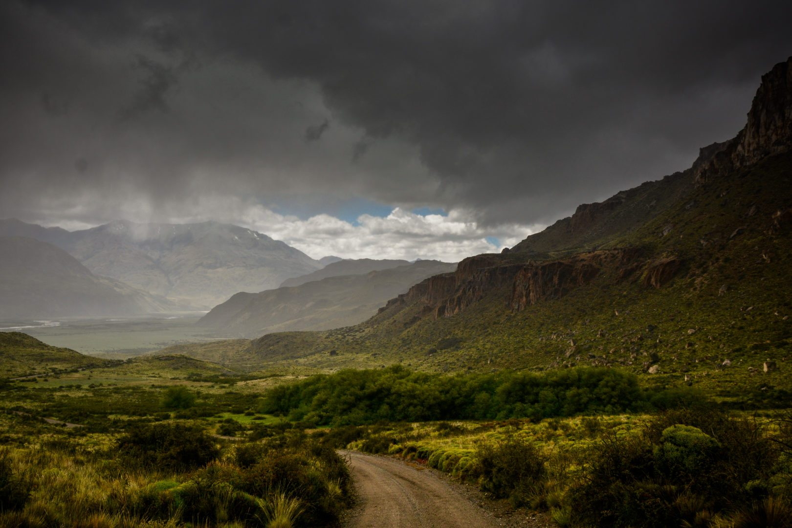 carretera austral Piste X-83, vers Valle Chacabuco